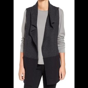 NWT Eileen Fisher boiled wool vest